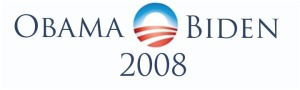 Obama Biden bumper sticker 2